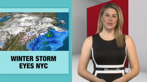 Winter Storm Eyes NYC