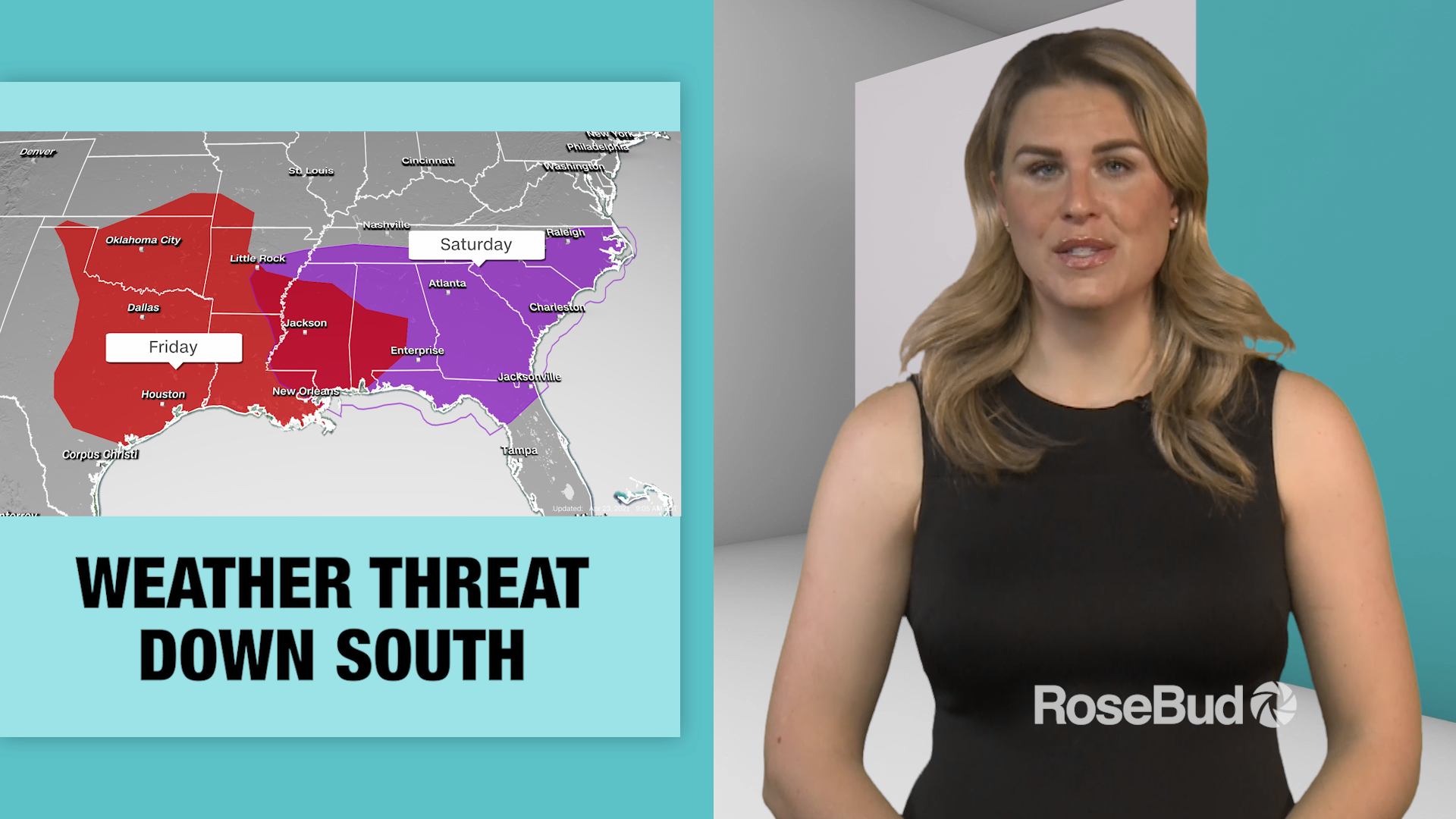 Weather Threat Down South