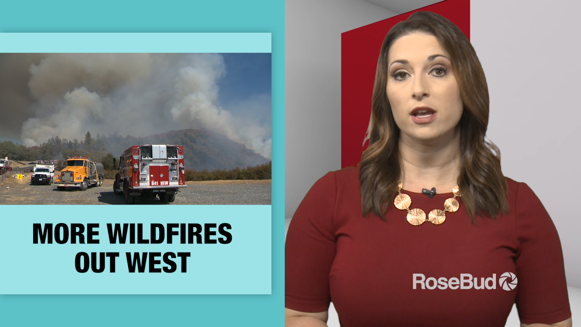 More Wildfires Out West